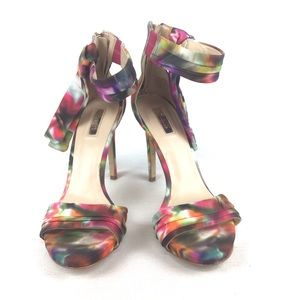 GUESS Multicolor High Heel Sandals Size 8.5